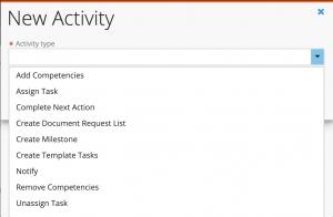 Activity Options